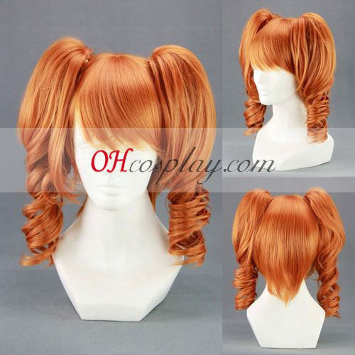 Sound Horizon 7th Orange Cosplay Wig