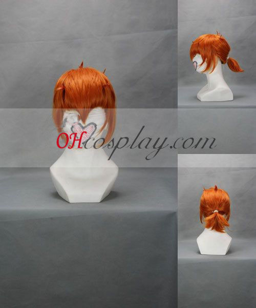 Quebec pull Manji Orange Cosplay Wig