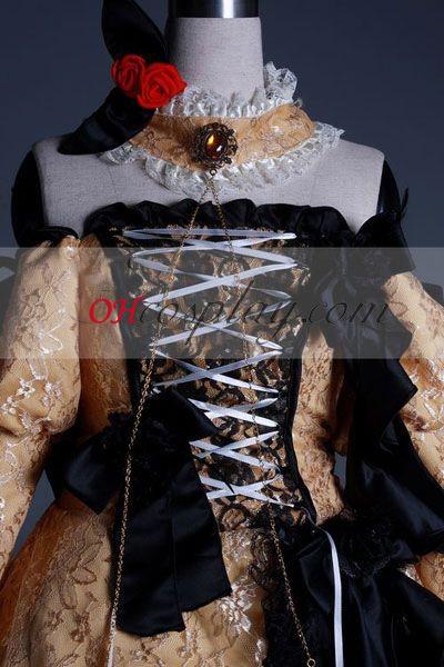Vocaloid Kagamine Rin / Len udklædning Kostume Advanced Brugerdefineret