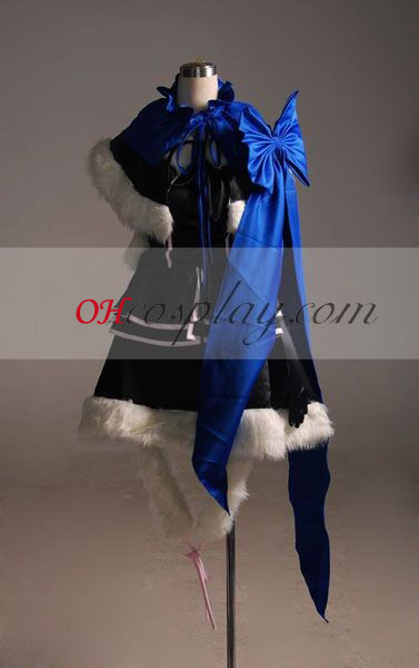 Vocaloid kaito Kvinna Derivative Version Cosplay Kostym-Advanced Custom