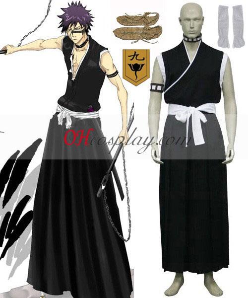 отбеливатель 9-м отделом генерал-лейтенант Hisagi Shuuhei анимэ костюм