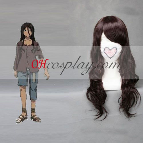 NO.6 Inukashi Brown Cosplay Wig