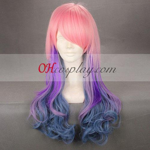 Japan Harajuku Series Pink&Purple&Blue Cosplay Wig Australia