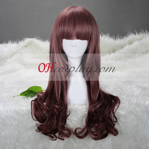 Japan Harajuku Lovers Serie bruine tinten Cosplay Wig