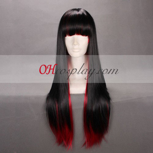 Japan Harajuku Lovers Serie Black&Red Cosplay Wig