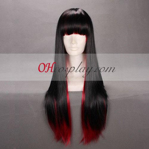 Япония Harajuku серия черно&червено Cosplay Wig