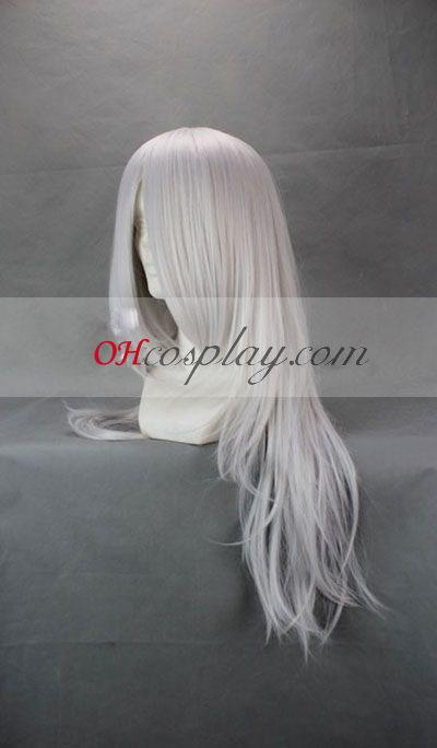 Bakuman Shinta Fukuda White udklædning Paryk