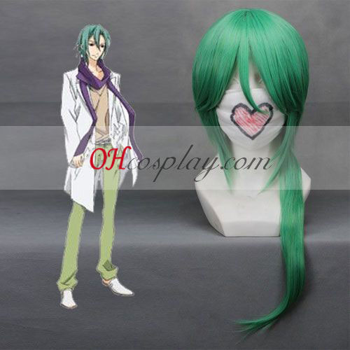 Звездно небе Kotarou Hoshizuki зелена Cosplay Wig