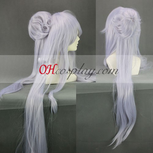 UN-GO Inga Panda Light Purple Cosplay Long Wig