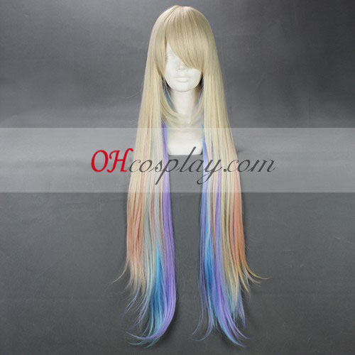 Japan Harajuku Lovers Serie Rainbow Cosplay Wig