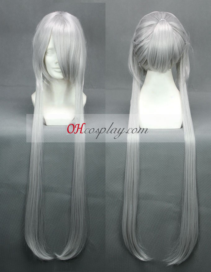 Brave10 Masamulou неправилен овал Cosplay Wig