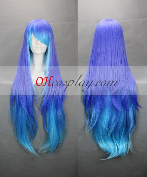 ANTI THE HOLiC Sukone Tei Purple&Blue Cosplay Wig Australia