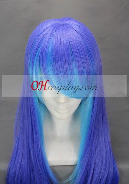 ANTI THE holic Sukone Tei Purple & Blue udklædning Paryk