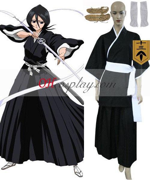 Bleach 13th Division Lieutenant Kuchiki Rukia udklædning Kostume