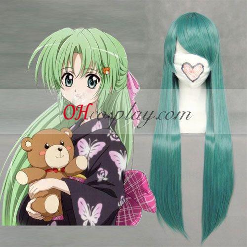 Higurashi no naku koro ni Sonozaki Shiion zelene Cosplay lasuljo