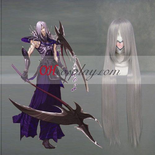 Sengoku Basara 2 Akechi Mitsuhide неправилен овал Cosplay Wig