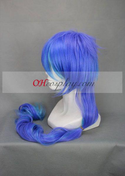 ANTI THE holic Kasane Teddo Purple & Blue udklædning Paryk