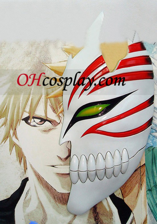 Bleach Cosplay Accessories Ichigo Half Hollow Mask (Deluxe Edition)