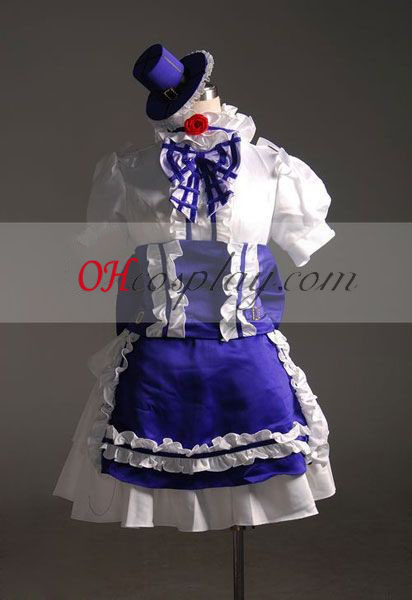 Macross Frontier Petronas Ciel Cosplay Kostym-Advanced Custom