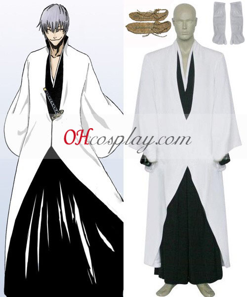 Bleach Ichimaru Gin Arrancar Cosplay Costume
