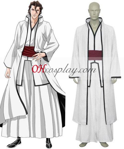 отбеливатель Aizen Sousuke полой анимэ костюм