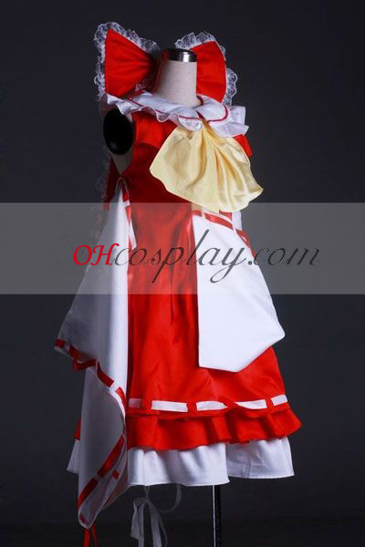 פרויקט touhou hakurei reimu קוספליי costume-advanced מותאם אישית