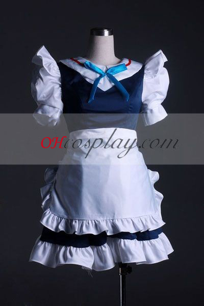 Izayoi Touhou projekt sakuya Costume-Advanced Cosplay egyéni