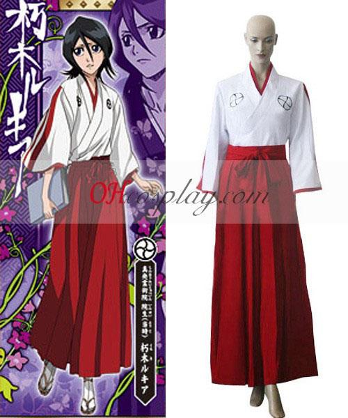 Λευκαντικό Shinigami Ακαδημία Κορίτσι Kimono Κοστούμια Cosplay