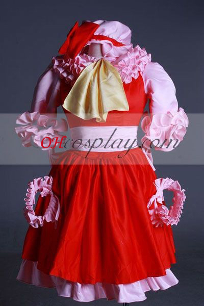 Touhou Project Remilia scarlatto Costume-Advanced personalizzato Cosplay