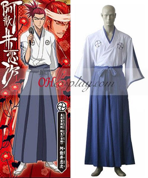 Λευκαντικό Shinigami Ακαδημία άντρες Kimono Κοστούμια Cosplay