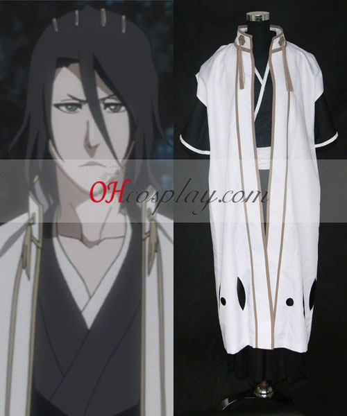 Bleach 6th Division Captain Kuchiki Byakuya New Cosplay Costume