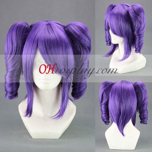 Bleach Katenkyoukotsu Purple udklædning Paryk
