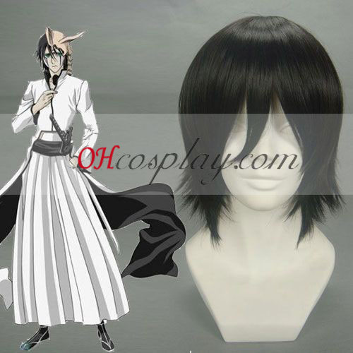 Bleach Ulquiorra Cifer Black Cosplay Wig