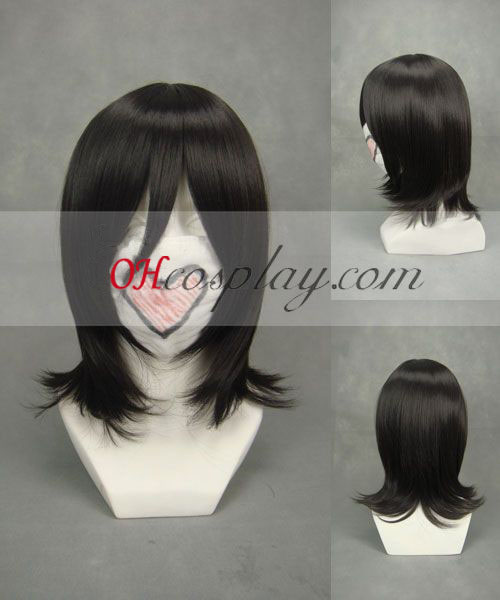 Белина Kuchiki Rukia черно Cosplay Wig