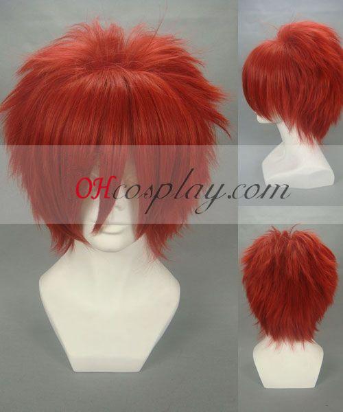 Bielidlo Hanakari Jinda červená Cosplay parochňu