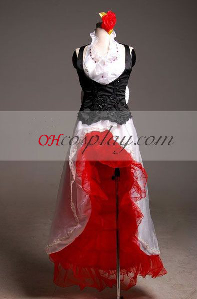 Vocaloid Firma Meiko Cosplay Costume-Advanced Aangepaste