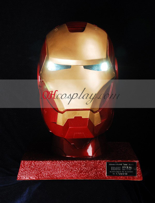 Iron Man Light Eyes udklædning Helmet - Premium Edition