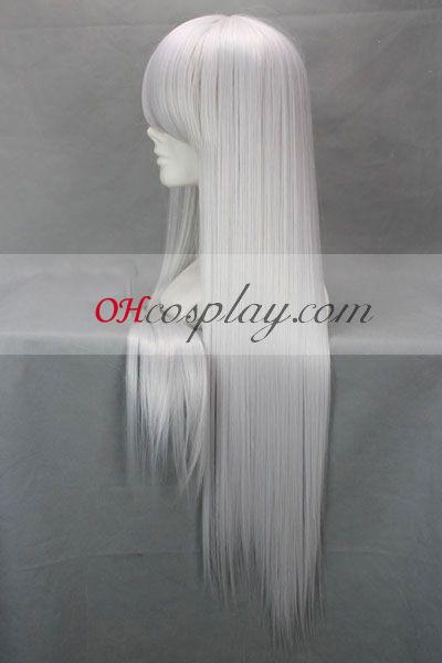 Bleach Ukitake Jushiro White udklædning Paryk