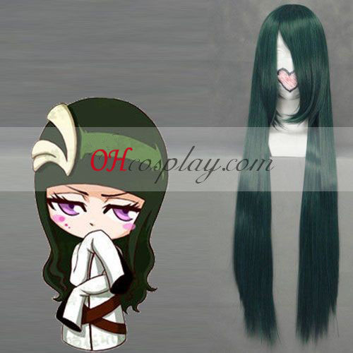 Bleach SunSun Dark Green cosplay pruik