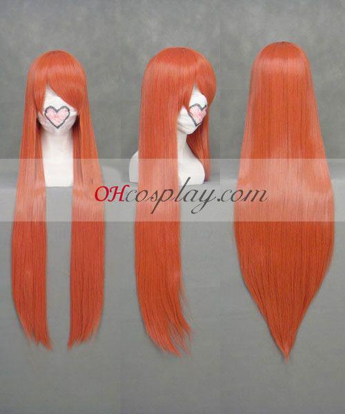 Белина Orihime Inoue оранжев Cosplay Wig