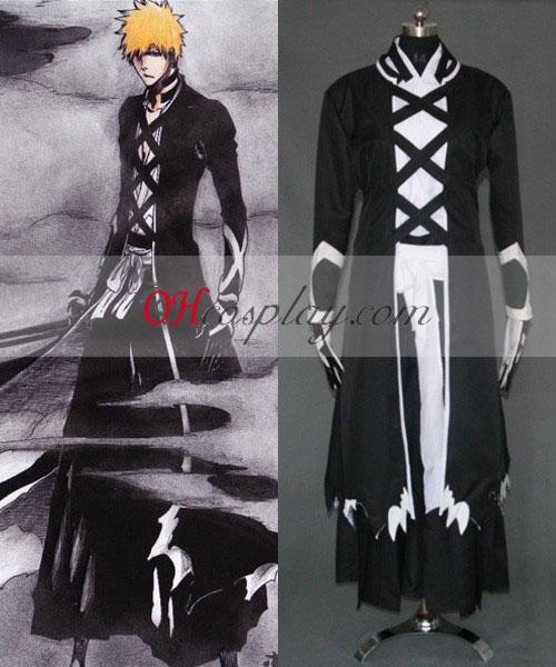Blekemidler Ichigo Fullbring nye Bnakai Cosplay kostyme