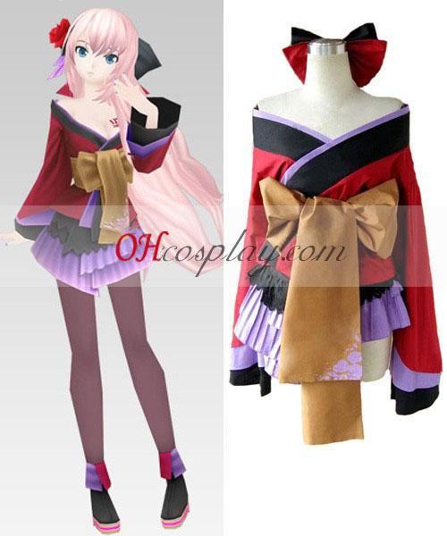 Vocaloid Projekt Diva Geisha Luka Cosplay Kostüme