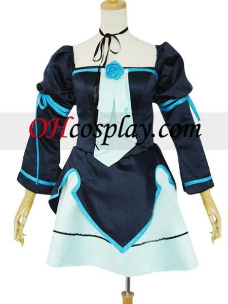 코스프레의 miku doujin 코스프레 푸른 군복 의상