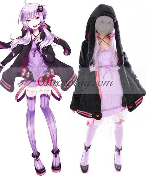 Vocaloid 3 Yuzuki Yukari Cosplay Traje