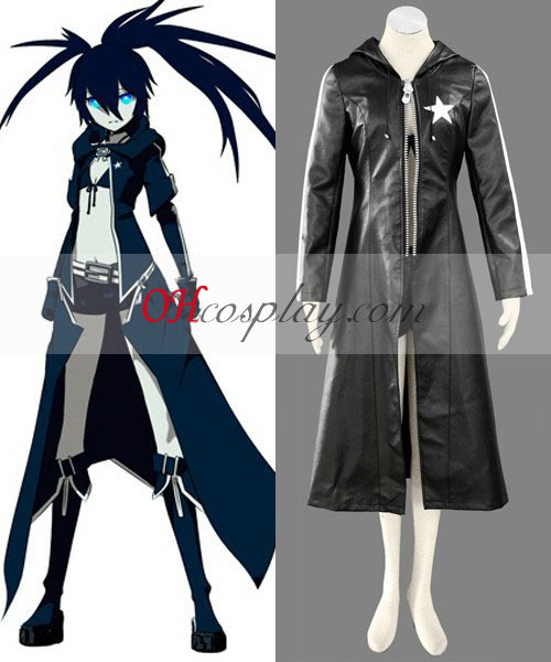 Vocaliod Black Rock Shooter анимэ костюм