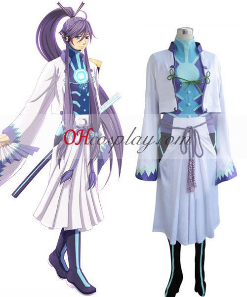 Vocaloid Kamui Gackpoid Cosplay kostym