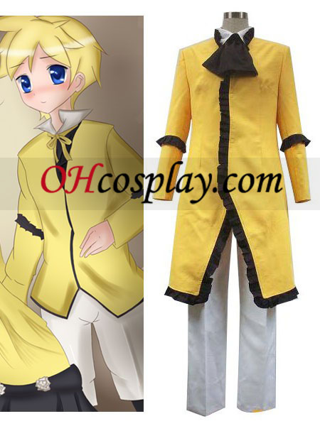 Vocaloid Servant Of Evil Yellow Cospaly Costume