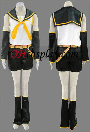 Kagamine Rin Women's Cosplay Costume from Vocaloid