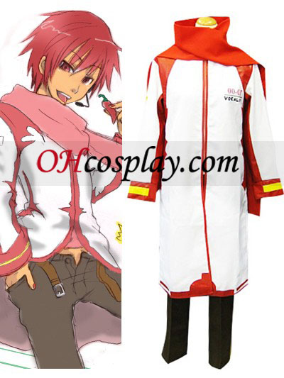 Vocaloid Akaito Red and White Cosplay Costume Australia