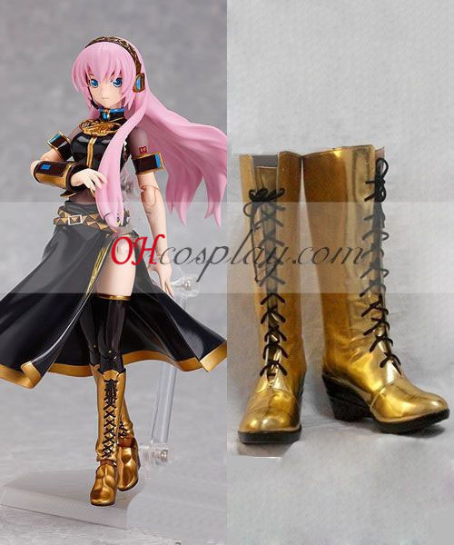 Vocaloid 3 Lin Costume Carnaval Cosplay Bottes